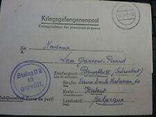 LETTRE PRISONNIER DE GUERRE STALAG II B KRIEGSGEFANGENENPOST POW 24 12 1942