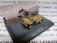 PZ17 Tank militaire 1/72 PANZER n°17 SdKfz 222 10 pz div Tunis 1943
