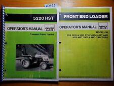 Deutz Allis 5220 Hst Compact Diesel Tractor Owner Operator Manual 436 Loader