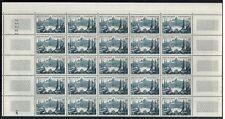 1955 - Demi-Feuille de 25 Timbres Neufs**Notre Dame de la Garde- Marseille-1037