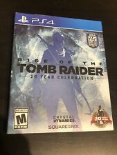 Rise of the Tomb Raider: 20 Year Celebration (PlayStation 4, 2016)