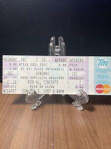 WYNONNA Concert Ticket Unused Vintage June 8 1997 Astroworld Houston Texas