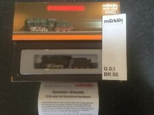 Marklin spur z scale/gauge KPEV Freight Locomotive & Tender.