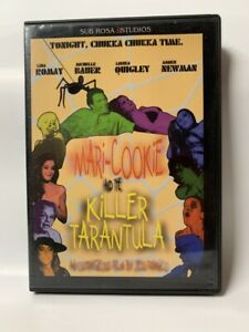 MARI-COOKIE AND THE KILLER TARANTULA rare US DVD cult Jess Franco horror movie