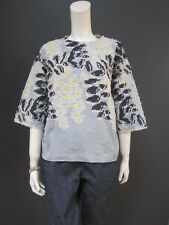 45rpm 45R flower top NEW with TAG 100 % cotton with matching pouch