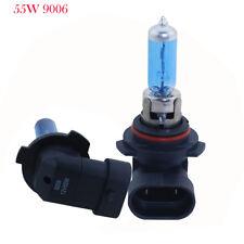 2pcs 12V 55W 9006 HB4 Super Bright White Fog Halogen Bulb Car Head Lights Lamp