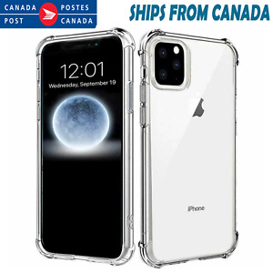 For Apple iPhone 13 12 11 Pro XS Max XR 7 Clear Case Shockproof Heavy Duty Cover