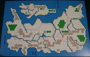 Imperial Faun Third Country Island Nation Map for AH's Blitzkrieg