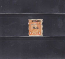 Canada Stamps - Precancels - Moncton NB 3-162 - CV $20