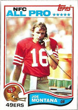1982 Topps Joe Montana #488 Football Card