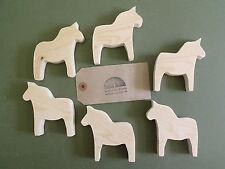 Pine wooden Dala horse craft shapes for decoupage, pyrography,wedding ,swedish