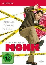 4 DVDs * MONK - STAFFEL 2 # NEU OVP +