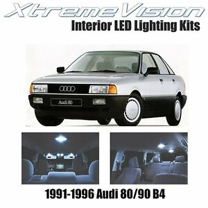 XtremeVision LED for Audi 80/90 B4 1991-1996 (17 Pieces) Cool White Premium Inte