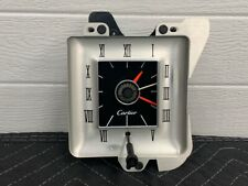 72 73 74 75 76 Lincoln Continental Mark IV Cartier Clock - TESTED!! WORKING!!!