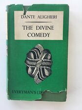 THE DIVINE COMEDY Dante Alighieri EVERYMAN'S LIBRARY 1948 HC DJ