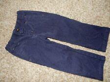 2T Janie & Jack Navy Blue Velvety Straight Dress Pants Adjustable Waist Gymboree