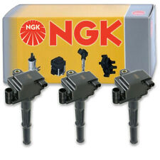 3 pcs NGK Ignition Coil for 1995-2004 Toyota Tacoma 3.4L V6 - Spark Plug cu