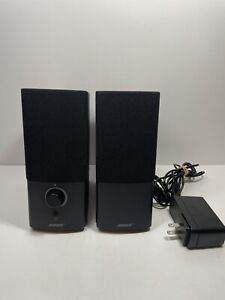 Bose Companion 2 Series III Multimedia Speaker System Black-Works