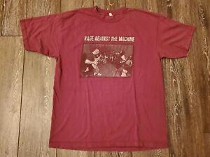 Vintage Rage Against The Machine Band Studio 1997 Men Shirt XL RATM Authentic Wu