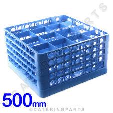 Glasswasher RACK 16 sezioni per Tall Wide BICCHIERI DA VINO VASI BICCHIERI 500 x 500