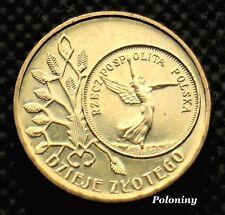 COMMEMORATIVE COIN OF POLAND - HISTORY OF POLISH ZLOTY NIKE (MINT)