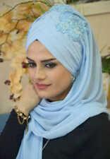 DPND48 Draperie Fertig Kopftuch Bandana Hazir Türban Sal Tesettür Hijab