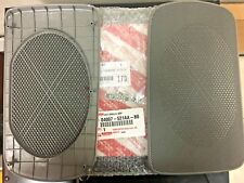 2002-2006 TOYOTA CAMRY GRAY GENUINE REAR SPEAKER GRILL COVER SET 04007-521AA-B0