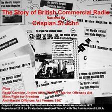 Pirate Radio Story of British Offshore Commercial Radio Crispian St John