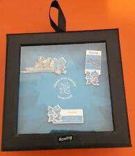 Juegos Olímpicos de Londres 2012 - 3 Pin Box Set-Remo - £ 3.50