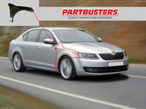 Skoda Octavia 2013 - 2016 Wing Front Driver Side Right RH New Insurance Approved