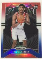 2019/20 Panini Prizm Rui Hachimura Red White Blue Prizm Variation Rookie Card