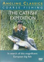 THE CATFISH EXPEDITION DVD COARSE FISHING