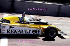 Rene Arnoux Renault RE20 USA Grand Prix 1980 Photograph