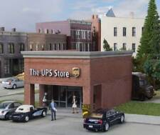 Walthers Cornerstone HO Scale Building/Structure Kit The UPS Store Retail Outlet