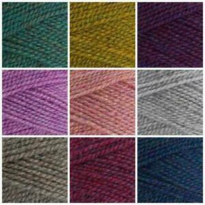 Stylecraft HIGHLAND HEATHERS DK Variegated Acrylic Yarn Knitting 100g & Patterns
