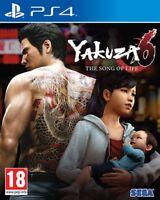 Yakuza 6:The Song of Life PS4