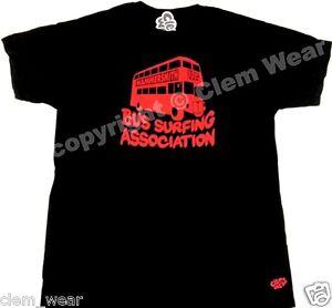 BUS SURFING ASSOCIATION Bottom T SHIRT tee Rik Mayall T-shirt comedy vegan PETA