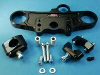 Abm Superbike Booster Té de Fourche Suzuki Sv 1000 S ( Wvbx ) 03-ff Noir