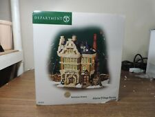 Alpine Village Series Wolfsteiner Brewery #56-56239 - With Box Christmas