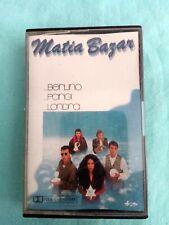 "Cassetta ""Matia Bazar – ... Berlino ... Parigi ... Londra"""