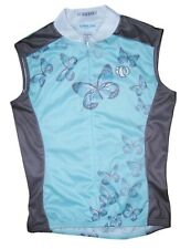 Pearl Izumi Cycling Bicycle Front Zip Jersey Butterflies Womens Size Medium NEW