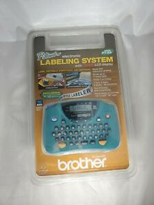 Brother P-Touch PT-65 Label Thermal Printer  Large LCD Display NEW BOX DAMAGED