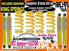"TOYOTA LANDCRUISER 80/100/105 3""INCH 75mm ARCHM4X4 / COIL SPRINGS +RTC LIFT KIT"