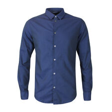 Armani Jeans - Fantasia Navy Blu Shirt - XXL - *NEW WITH TAGS* RRP £135