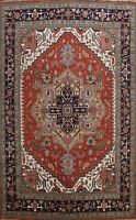 Geometric Heriz Serapi Oriental Area Rug Wool Hand-knotted Oversize 12x15 Carpet