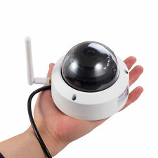 720P HD Mini Dome IP Camera Outdoor Wireless WiFi Weatherproof ONVIF Camera