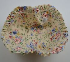 Longaberger Small Easter Basket Liner Spring Floral Collectible Accessory Fabric