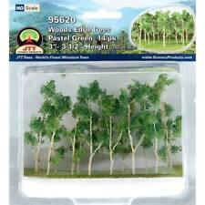 JTT Scenery Products Edge Trees Pastel Green 3-3.5 (14) 95620