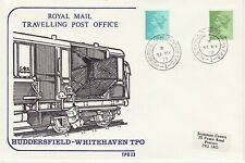 GB Stamps Souvenir Royal Mail Travelling PO, Huddersfield to Whitehaven TPO 1978