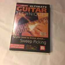 Lick Library Sweep Picking, Guitar Instruction by Stuart Bull (DVD) - BRAND NEW
